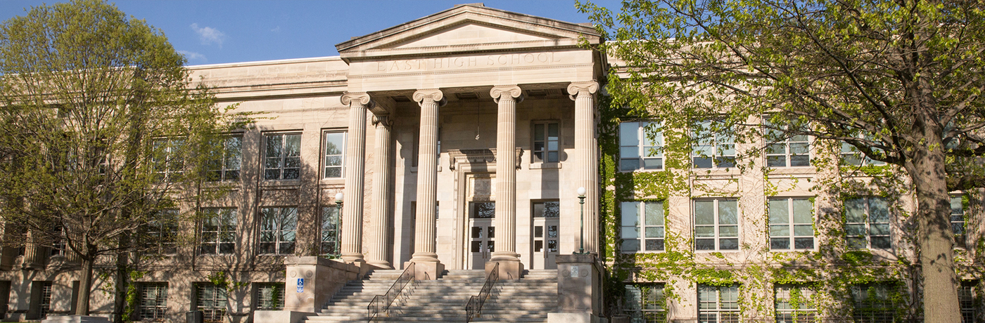 East High School Building