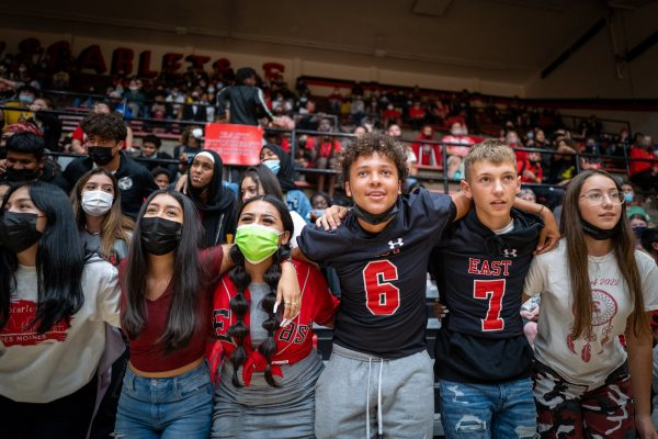 East Scarlets Host Pep Rally Before Homecoming Game