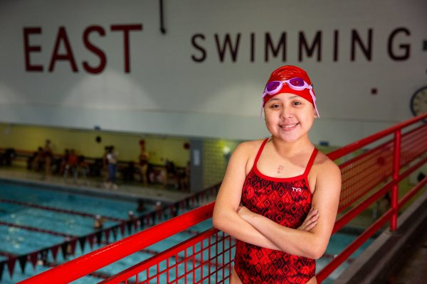 East Swimmer, Double-Lung Transplant Recipient Makes Waves